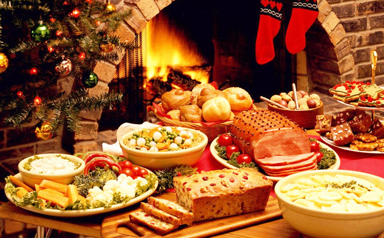 The Food Varies Significantly From One Country To Another For Example In Like England A Traditional Meal Being Served On Christmas