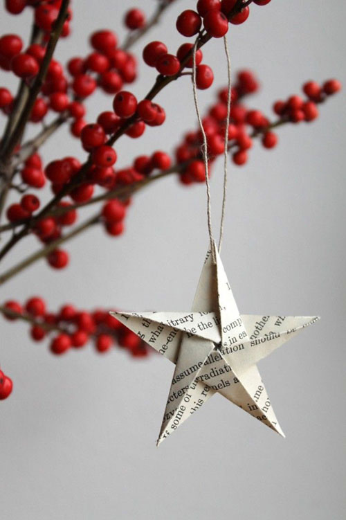 You Can Buy This Hand Made Christmas Decorations From Remodelista Products Origami Star Ornament Set