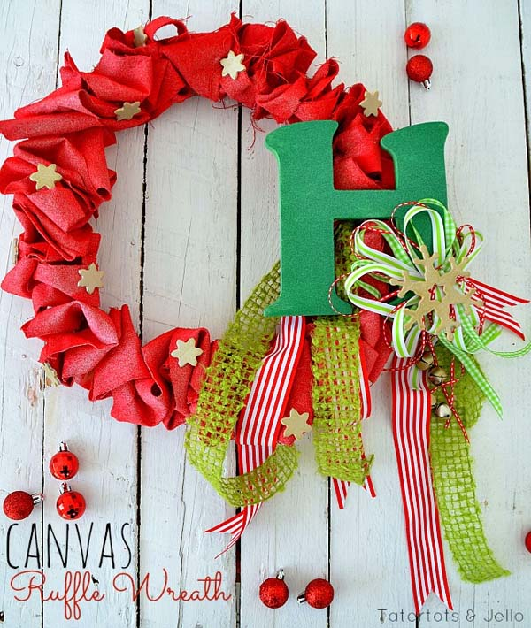 50 Amazing Christmas Wreath Decorating Ideas 2016 – Christmas ...