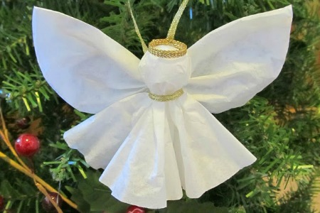 Angel Ornament Craft Christmas Celebration All About