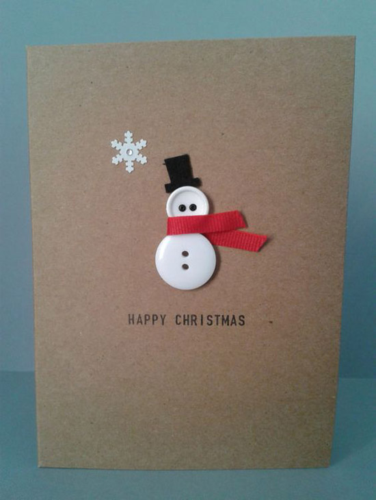Snowman Christmas Cards Ideas.Best Easy Diy Christmas Card Ideas Christmas Celebration