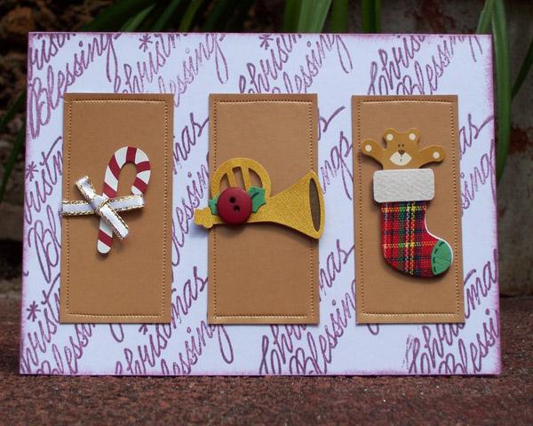 Best easy diy christmas card ideas christmas celebration for Elegant christmas card ideas