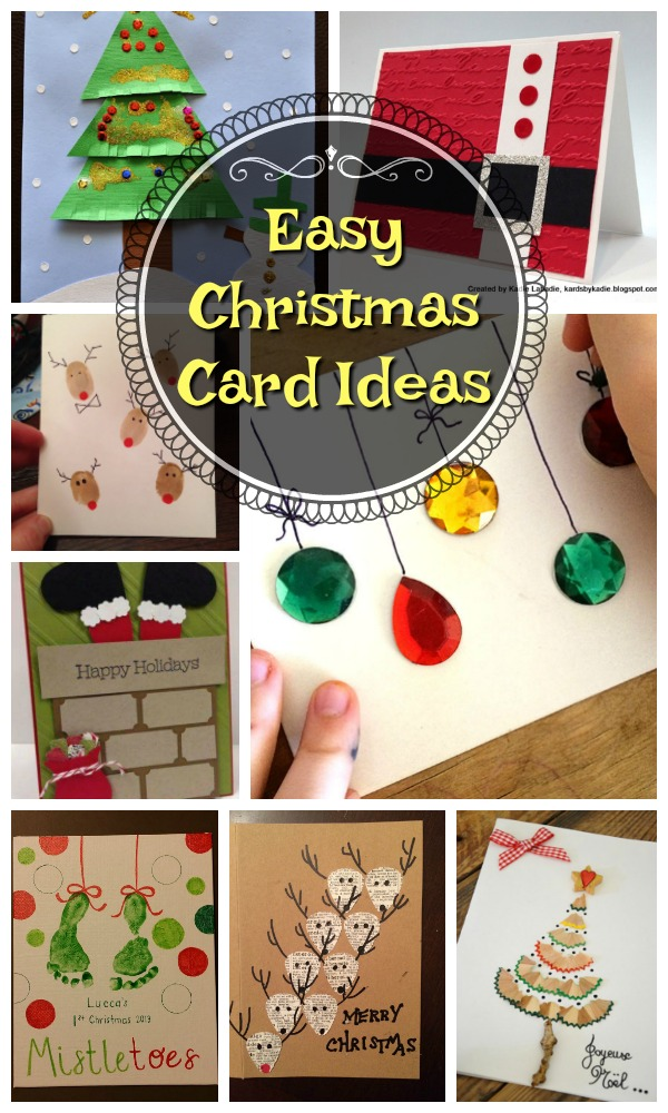 Christmas Card Making Ideas For Kids Part - 42: So What Are You Waiting For, Exercise Your Creativity And Have Fun As You  Make These Handmade And DIY Christmas Cards.