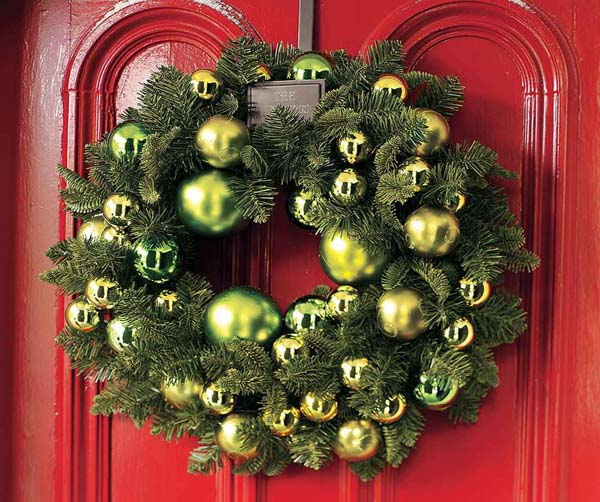 elegant christmas wreaths - Elegant Christmas Wreaths