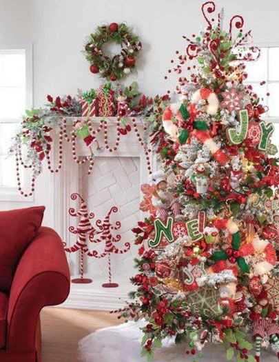 fun-christmas-tree-decoration-ideas - Christmas Celebration - All ...