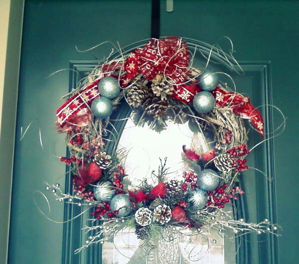 grapevine christmas wreaths image froufrugal