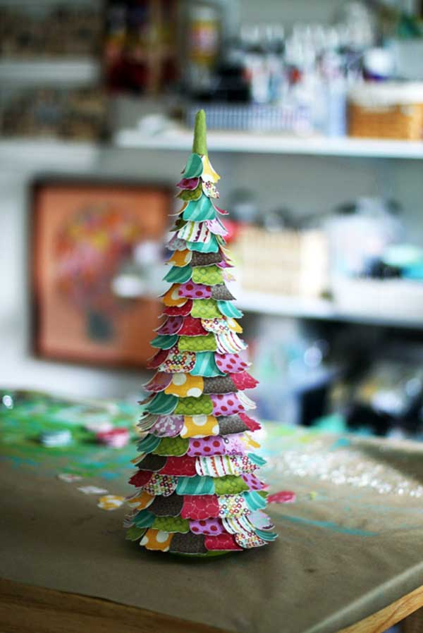 Homemade Christmas Craft Ideas For Kids Part - 42: Lolly-chessieu0027s-famous-cp-christmas-trees