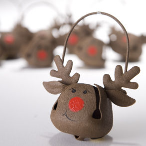 Use Christmas Decorations as Christmas favors. Photo Credit: http://www.centurynovelty.com/catImages/146-712_zoom.jpg