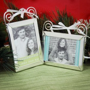 Gift your dear and near ones with their own pictures in Christmas favors.