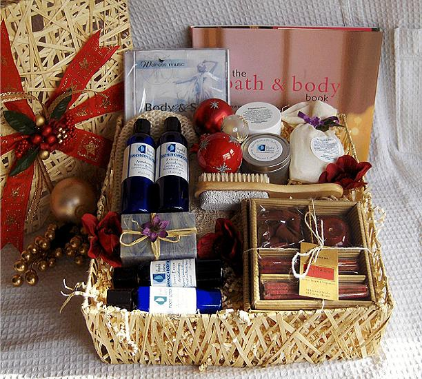 Christmas gift basket ideas for women