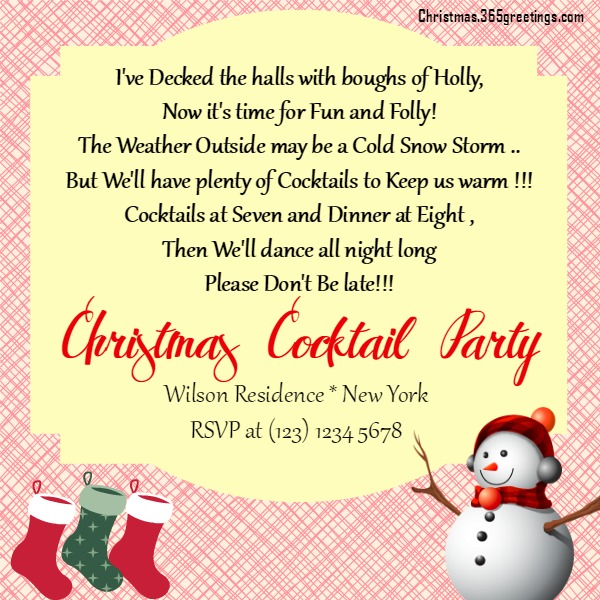 Christmas party invitation ideas christmas celebrations christmas party invitation ideas 2 stopboris Image collections