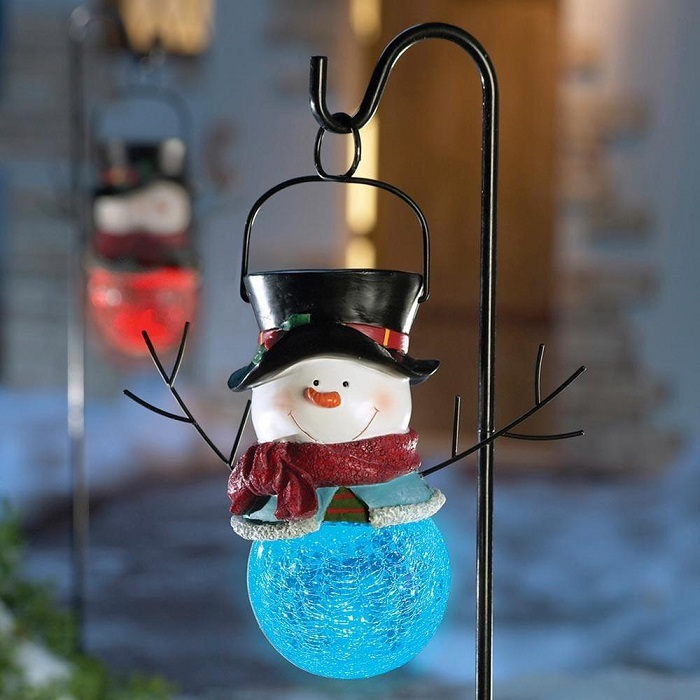 Christmas lights decorations to brighten up your holiday christmas snowman lights mozeypictures Choice Image