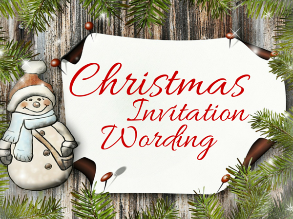 Christmas Invitation Background Png.Christmas Invitation Template And Wording Ideas Christmas