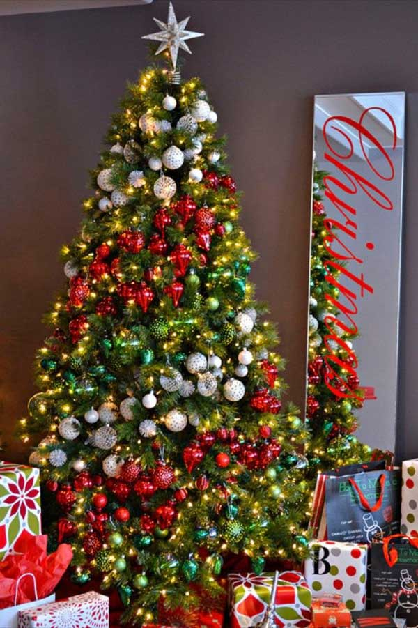 merry christmas tree decorations - Pics Of Decorated Christmas Trees
