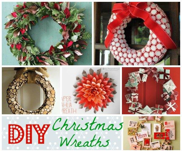Easy To Make Homemade Diy Christmas Wreaths Christmas