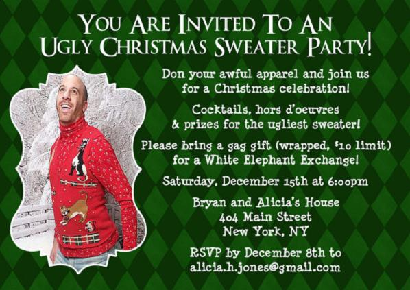 Funny Christmas Party Quotes And Sayings: Funny Christmas Invitation Wording