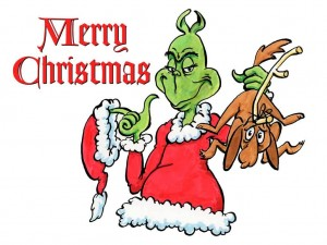 The Grinch Who Stole Christmas has an animated version as well as an inanimate, one.