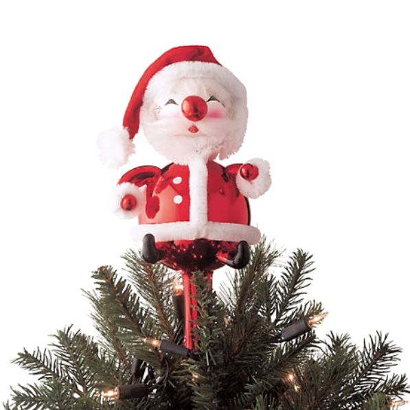 santa claus tree topper httpwwwgumpscom