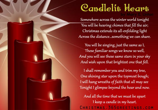 One candle is lit lyrics