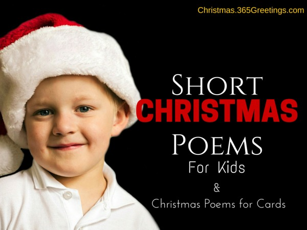 Short Christmas Poems f