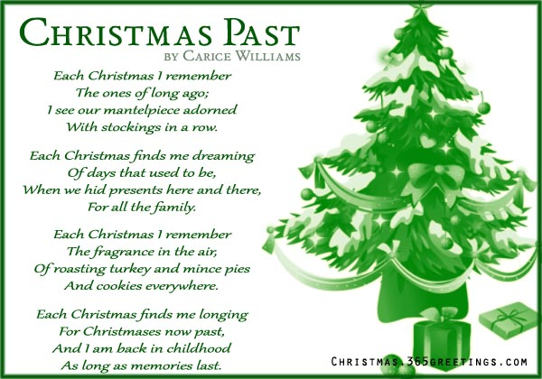 Short Christmas Poems - Christmas Celebrations