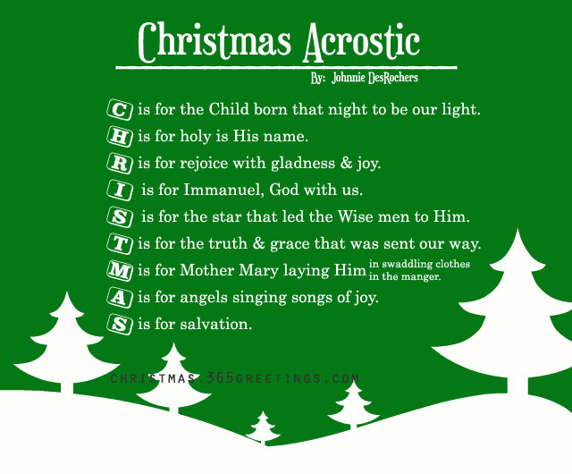 christmas-acrostic-poem