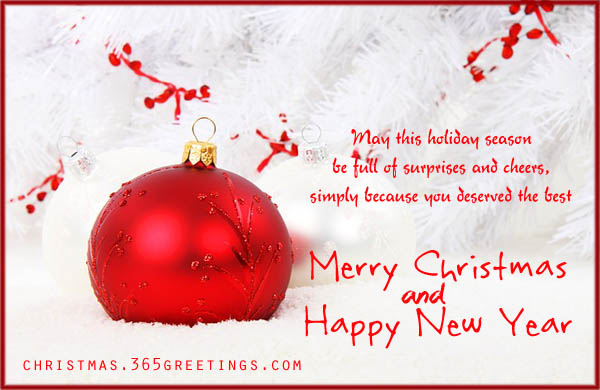 Short Christmas Greetings