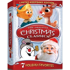 Seven holiday favorites in ONE DVD. Photo Credit: http://www.frugalfritzie.com/wp-content/uploads/2010/11/christmas-classic.jpg