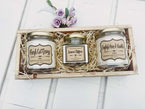 For the Vegan girl – Scented Soy wax Candle - Christmas Gifts For Girlfriend - Christmas Celebration - All About