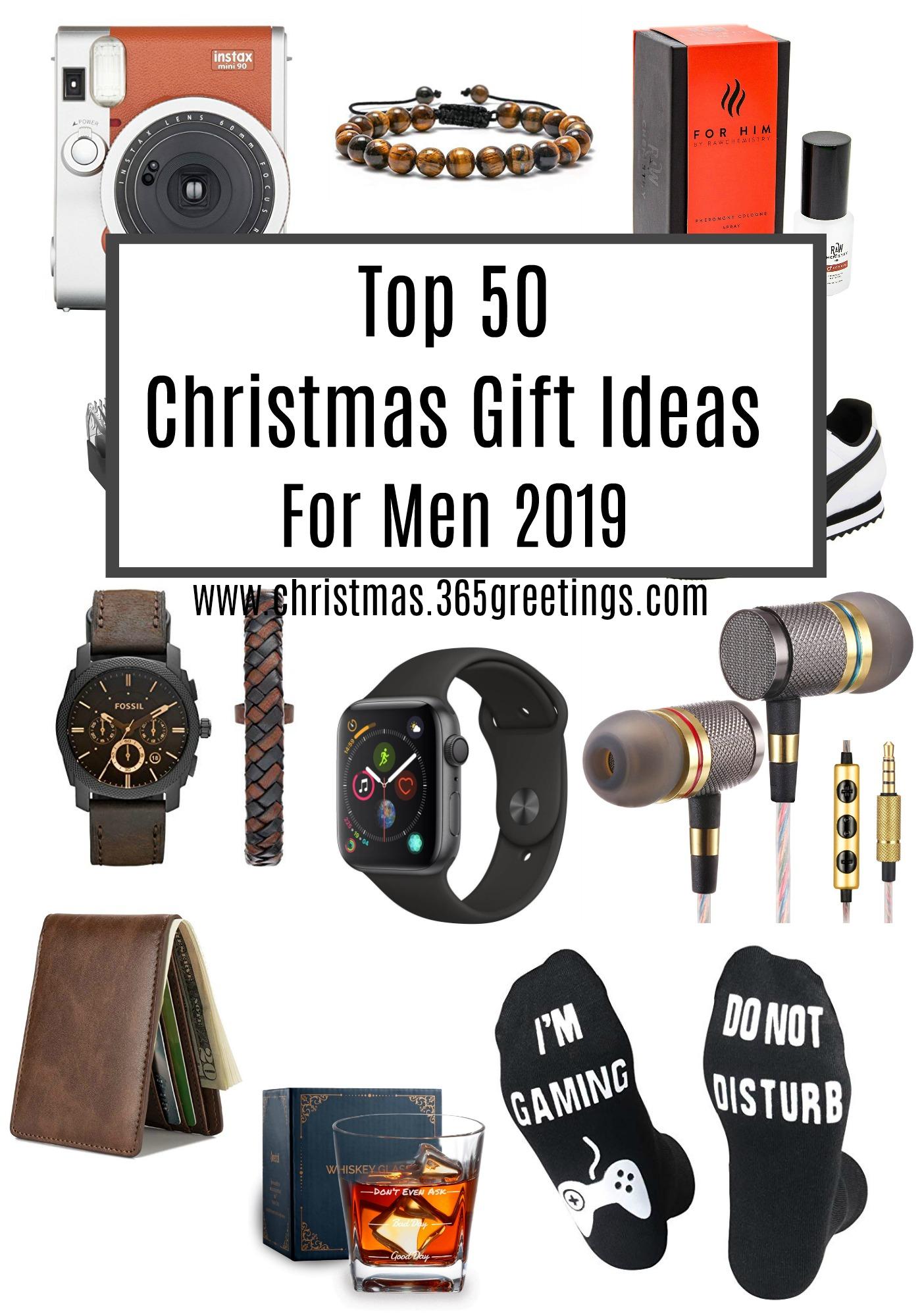 , Top 50 Weihnachtsgeschenke für Männer 2019, Weihnachten 2019