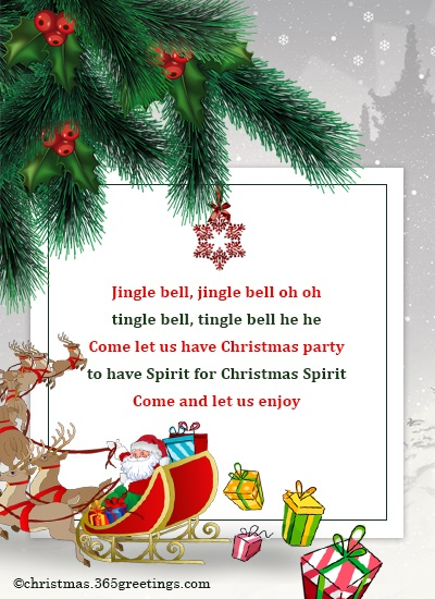 jingle bell jingle bell oh oh tingle bell tingle bell he he come let us have christmas party to have spirit for christmas spirit come and let us enjoy