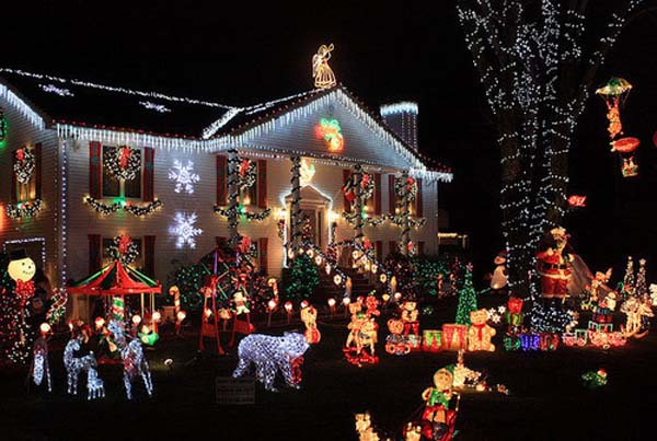 christmas lawn decoration ideas