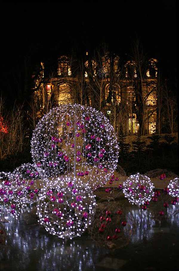 christmas lights decoration idea