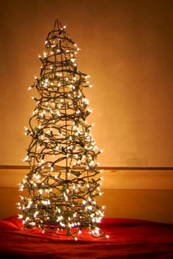 christmas lights decoration ideas on christmas tree - Christmas Decorations Lights