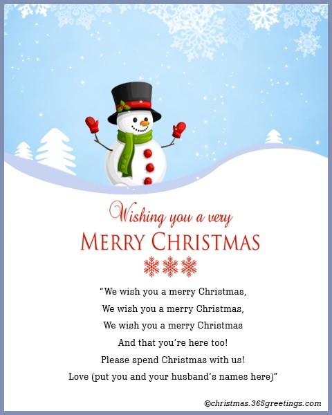 photo regarding Words to We Wish You a Merry Christmas Printable named Xmas Invitation Template And Wording Guidelines - Xmas