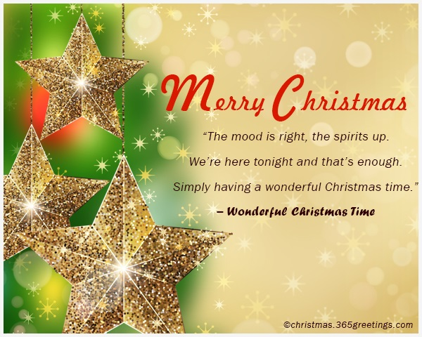 wonderful christmas time rocking around the christmas tree have a happy holiday everyone dancing merrily in a new old fashioned way - Simply Having A Wonderful Christmas Time