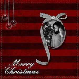 Christmas Scrapbook Cover. Photo Credit: www.examiner.com