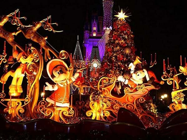 Disney Outdoor Christmas Decorations Christmas Celebration All