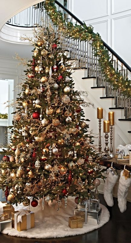 Christmas Home Decor.Elegant Christmas Decor Christmas Home Decorating