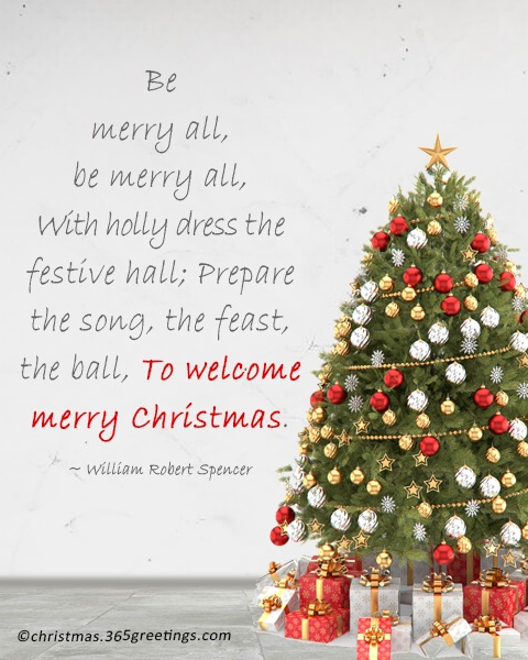 Merry Christmas Quotes and Wordings