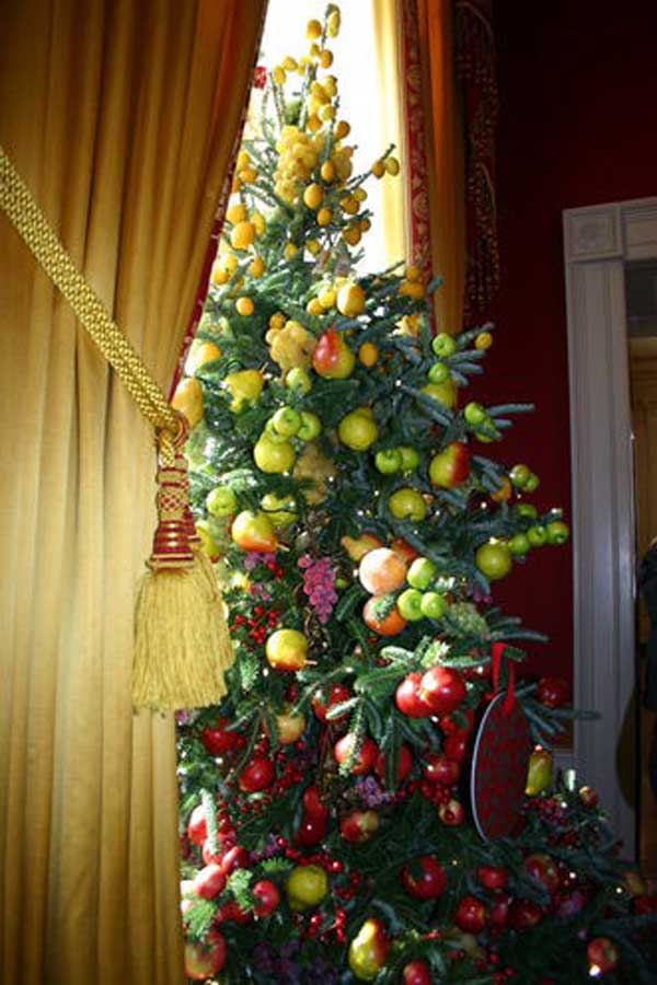 Christmas Tree Fruit Ornaments.Themes For Christmas Tree Decoration Christmas Celebration