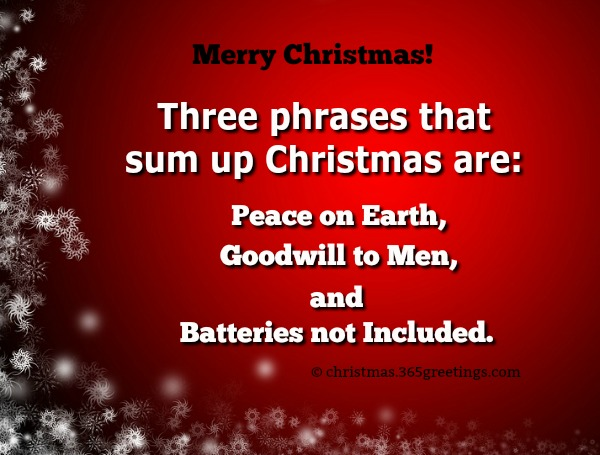 Funny Christmas Quotes and Sayings - Christmas Celebration ...