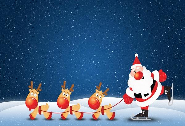 funny christmas wallpaper 2
