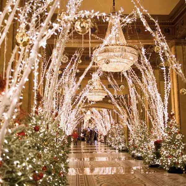 elegant christmas light decorations