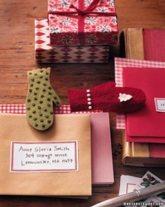 Felt is a great material to make Christmas crafts from.