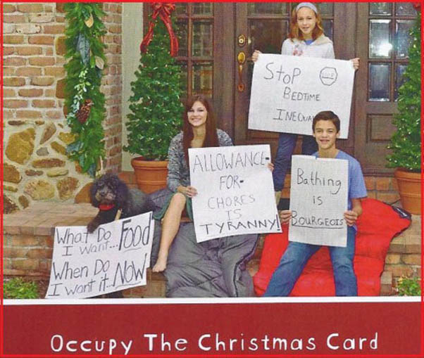 hilarious christmas photo cards