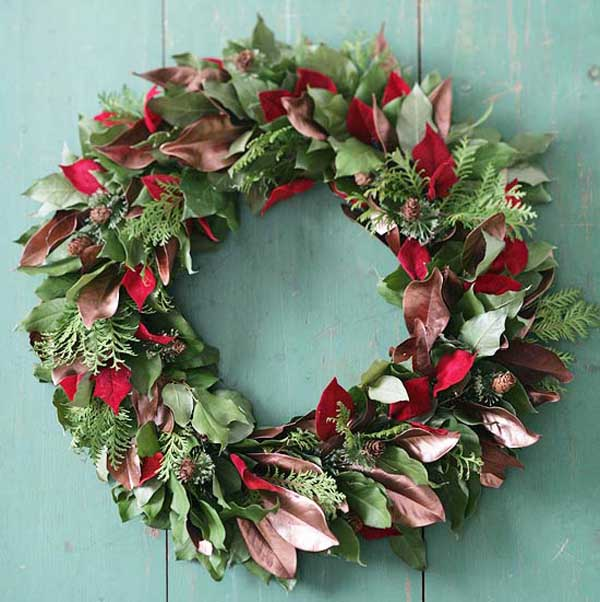 layered-leaf-christmas-wreath