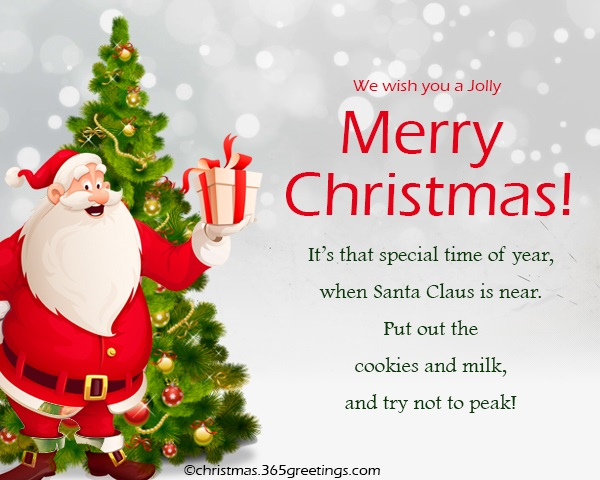 Merry Christmas Quotes and Wordings - Christmas Celebration ...