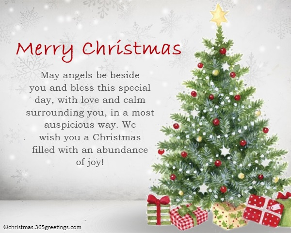 Merry Christmas Quotes and Wordings - Christmas Celebration - All ...