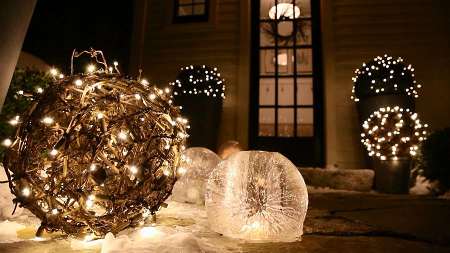 unique christmas outdoor christmas decorations - Outdoor Christmas Decorating Ideas Pictures